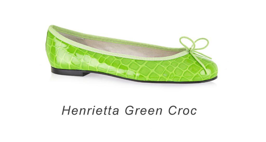 French Sole Henrietta Croc