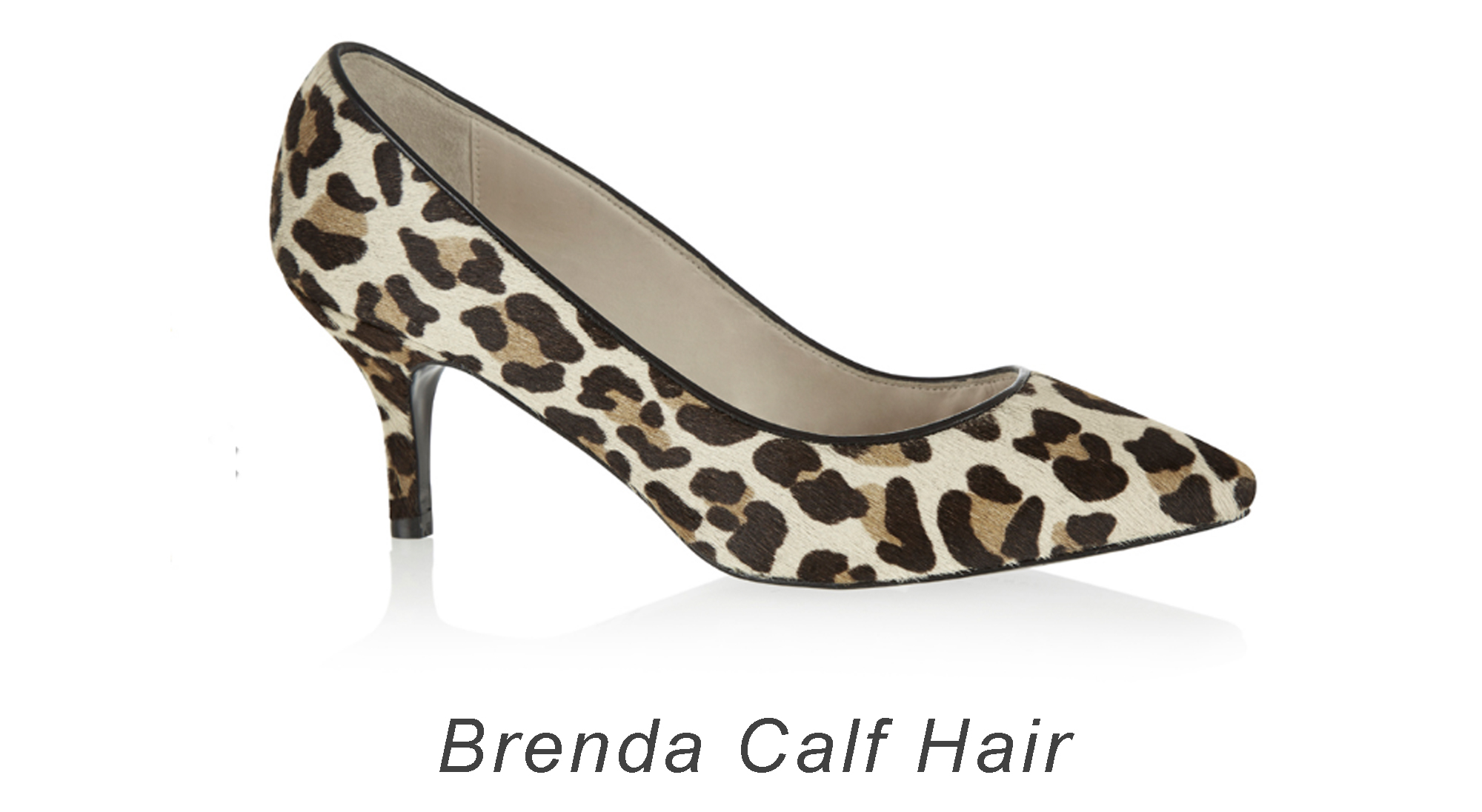French Sole Brenda Calf Hair Heels