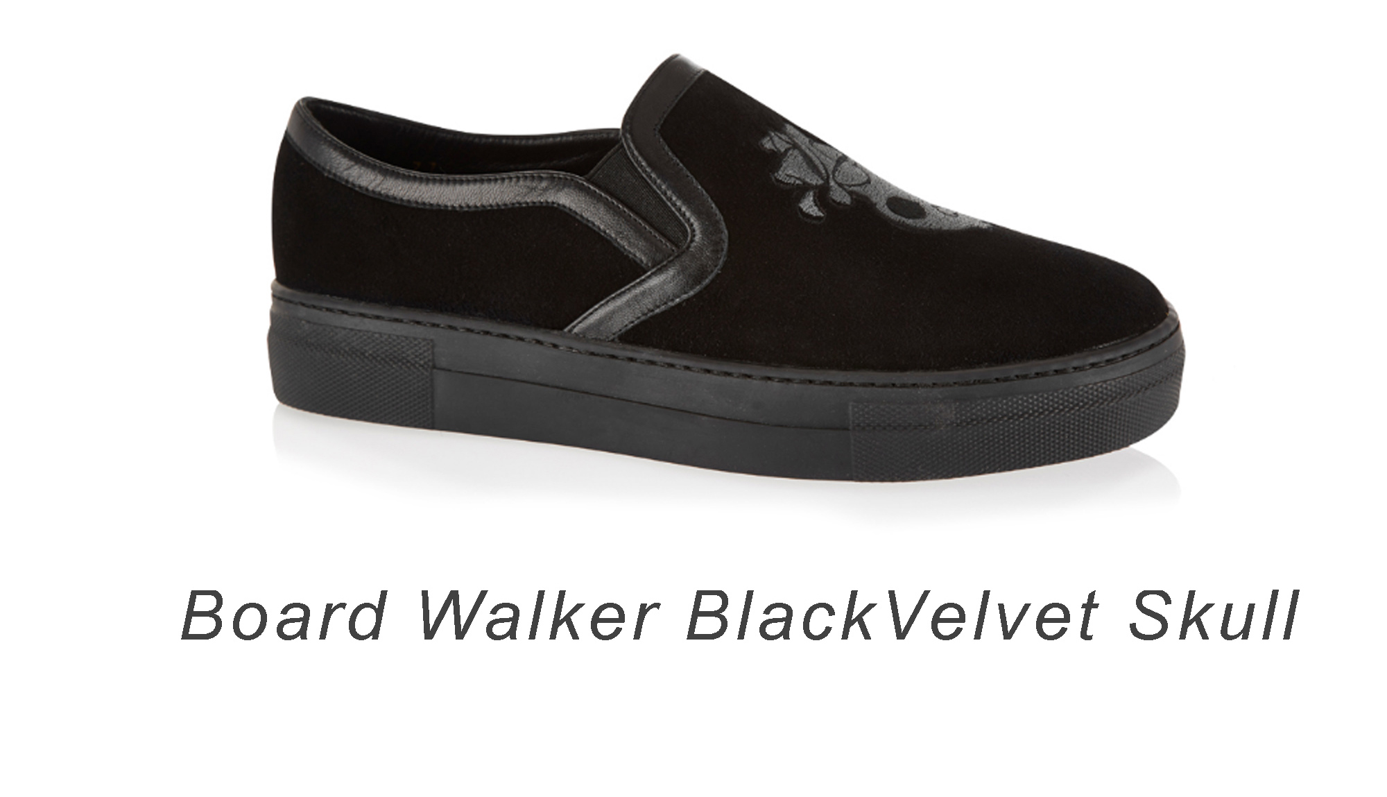 Board Walker velvet sneakers